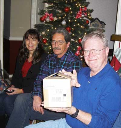 XmasPartyCandace,Mike,Ron