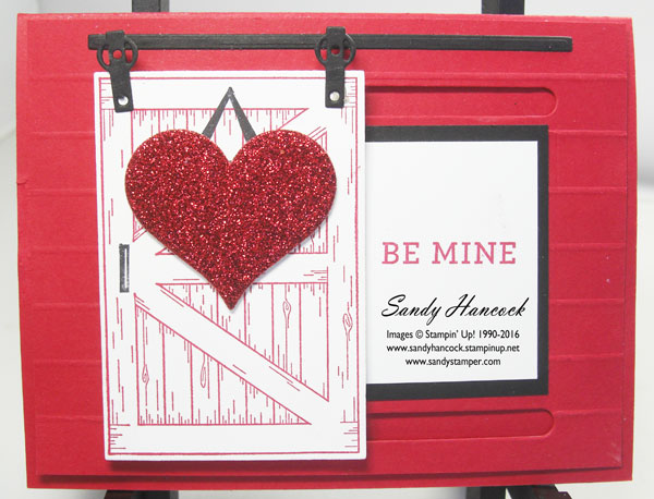 Udderlyawesome Stamping From The Heart Valentine Barn